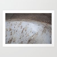 Rounded Curb Art Print