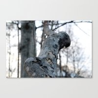 the hound Canvas Prints featuring HOUND by smmrkllr