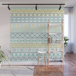 Aztec Influence Ptn Colorful Wall Mural