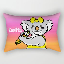 Koalita leaves sandwich Rectangular Pillow