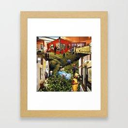 Ground Floor Framed Art Print