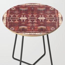 N252 - Bohemian Oriental Heritage Berber Moroccan Style Side Table