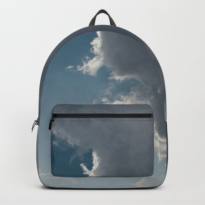 Clouds in the blue sky Backpack