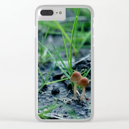 Fungi magic Clear iPhone Case
