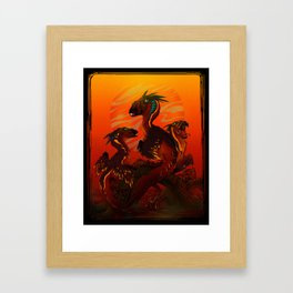 Just Dragons 03 Framed Art Print
