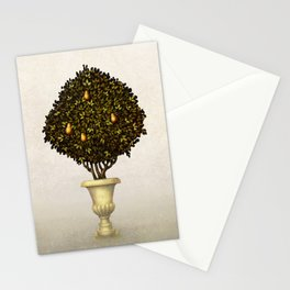 Pear Trees Stationery Cards