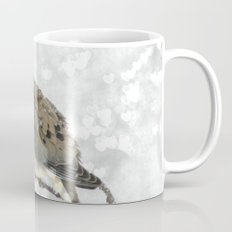 Snowy Winter Dove Mug