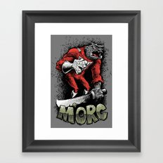 m'orc from orc Framed Art Print