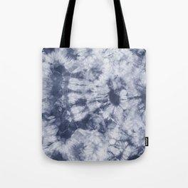 Tie Dye 3 Navy Tote Bag