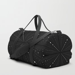 Infinity Space Dots Duffle Bag