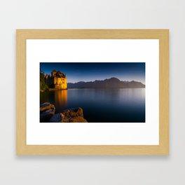Chillon Castle Framed Art Print