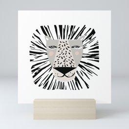 Friendly Lion Mini Art Print