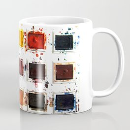 Watercolor palette Coffee Mug