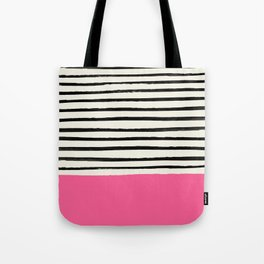 Watermelon & Stripes Tote Bag