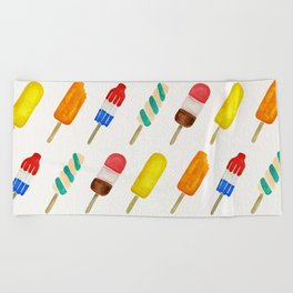 Popsicle Collection Beach Towel