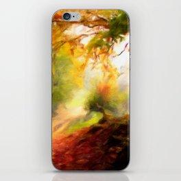 Autumn Trail iPhone Skin