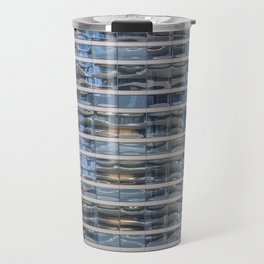 Aqua Tower Reflection Travel Mug
