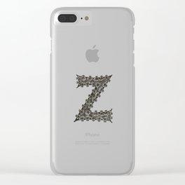 Color Me Z Clear iPhone Case