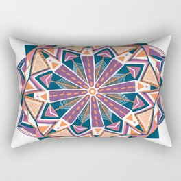 montana, mandala Rectangular Pillow