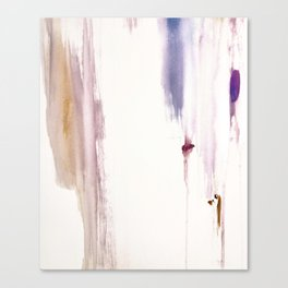 Sugar and Spice [2]: a minimal, pretty abstract piece in pinks, purple, mauve, and tan Canvas Print