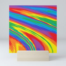 Infinite Rainbow Mini Art Print