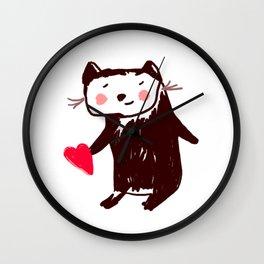 A little otter Wall Clock