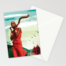 Poster Afryka! Stationery Cards