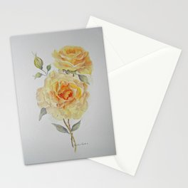 One rose or two Stationery Cards