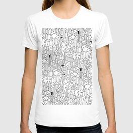 Little Escher's Building Blocks T-shirt