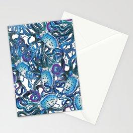 Riptide_blue Stationery Cards