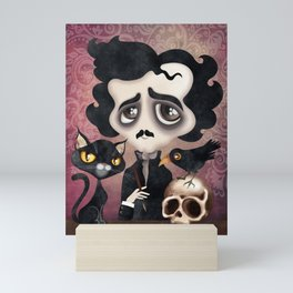 Edgar Poet Mini Art Print