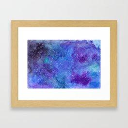 Galaxy Love:. 2 Framed Art Print