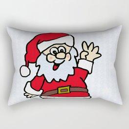 Santa Rectangular Pillow