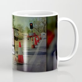 Stop Here When Light Is Red Coffee Mug