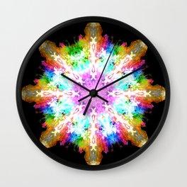 splash flake Wall Clock