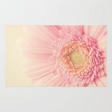 Pastel Pink Macro Rug