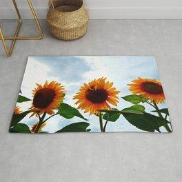 Deformed Sunflower Rug