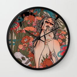 Lustful Life Wall Clock