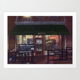No cover, C-ville, VA Art Print