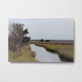Ashe Island Metal Print