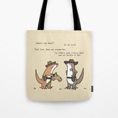 Ottercowboy Tote Bag