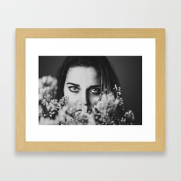 Don't Look Him In The Eyes Framed Art Print