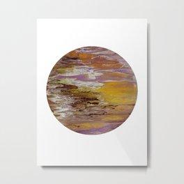 Dune, acrylic on canvas Metal Print