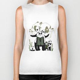Sinon, un panda (7) Biker Tank
