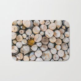 Logged Bath Mat