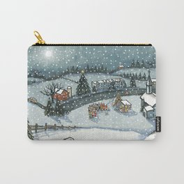 Christmas is Here Carry-All Pouch