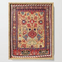 Sauj Bulag Azerbaijan Northwest Persian Rug Print Serving Tray
