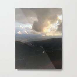 Outside Twin Peaks 2 Metal Print