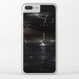 Coastal Storm Clear iPhone Case