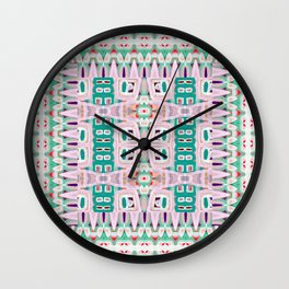 Geo Tribal Wall Clock
